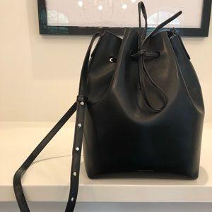 MANSUR GRAVIEL black bucket bag